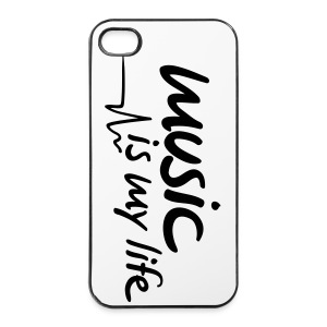 MUSIC IS MY LIFE  - iPhone 4/4s Hard Case