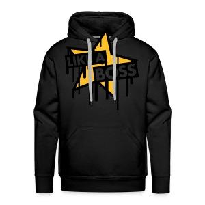 Like A Boss trui - Mannen Premium hoodie