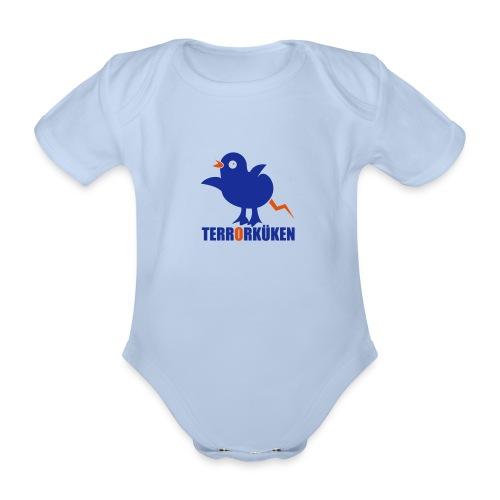Terrorküken - Baby Bio-Kurzarm-Body