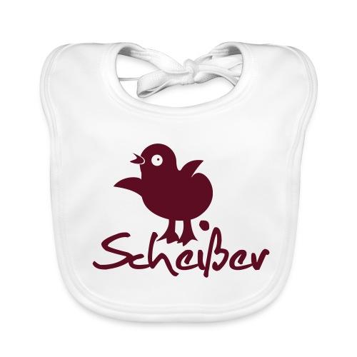 Küken - Scheißer - Baby Bio-Lätzchen