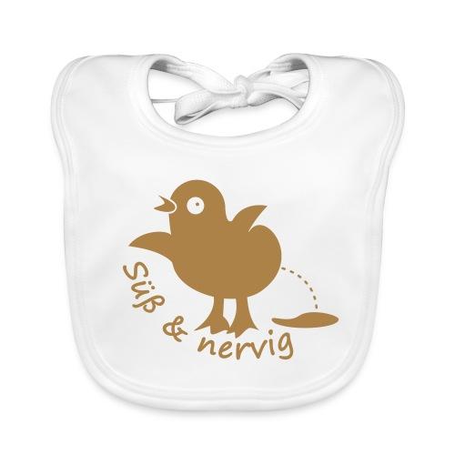 Küken Süss und nervig - Baby Bio-Lätzchen