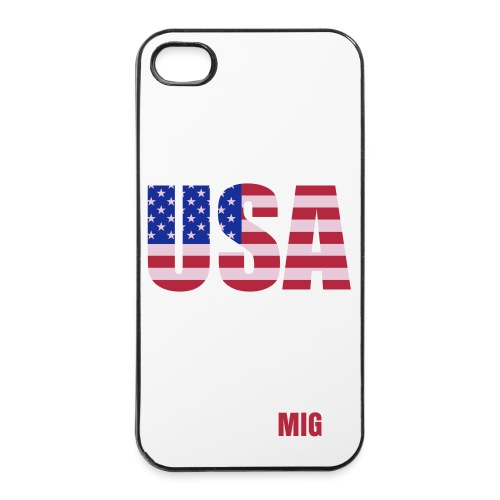 Coque  4 et 4s MIG US - Coque rigide iPhone 4/4s
