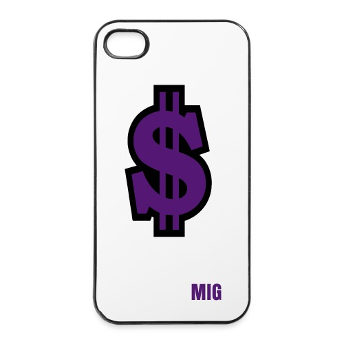 Coque  4 et 4s MIG dollars - Coque rigide iPhone 4/4s