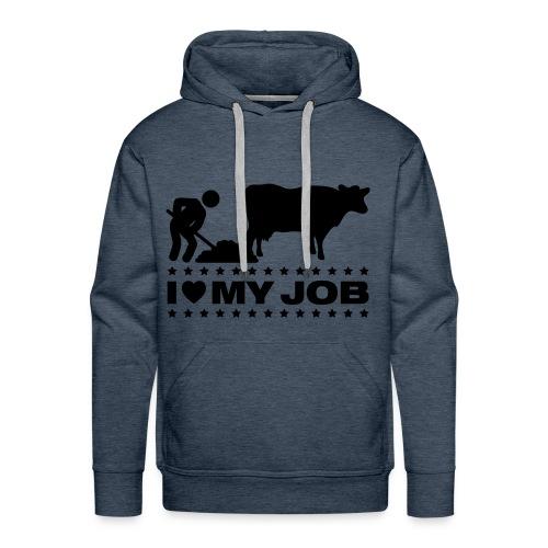 Aggrariersshirt. - Mannen Premium hoodie