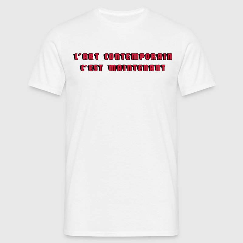 Art Contemporain Tee shirts - T-shirt Homme