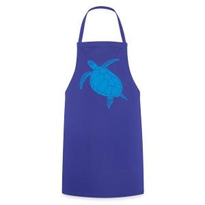 tier t-shirt meeres schildkröte sea turtle schildi meeresschildkröte tauchen taucher scuba diving - Kochschürze