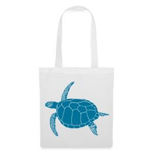 tier t-shirt meeres schildkröte sea turtle schildi meeresschildkröte tauchen taucher scuba diving - Stoffbeutel