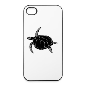 tier t-shirt meeres schildkröte sea turtle schildi meeresschildkröte tauchen taucher scuba diving - iPhone 4/4s Hard Case