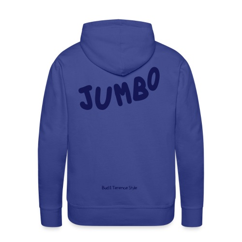 Jumbo - Felpa con cappuccio premium da uomo