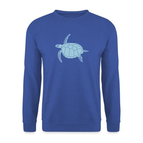 tier t-shirt meeres schildkröte sea turtle schildi meeresschildkröte tauchen taucher scuba diving - Männer Pullover