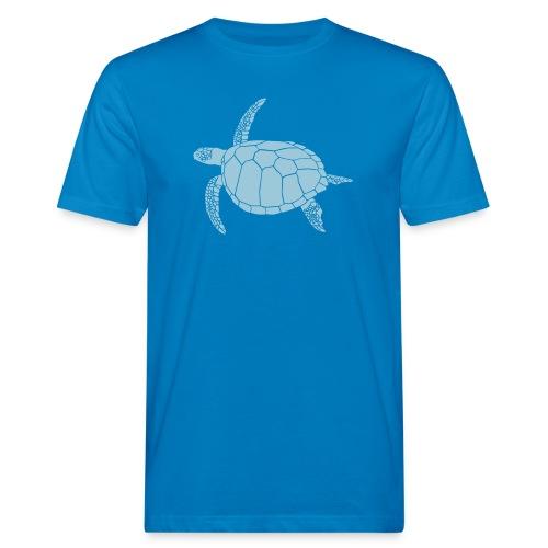 tier t-shirt meeres schildkröte sea turtle schildi meeresschildkröte tauchen taucher scuba diving - Männer Bio-T-Shirt