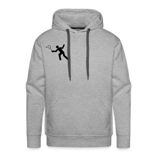 Badminton Hoddie - Herre Premium hættetrøje