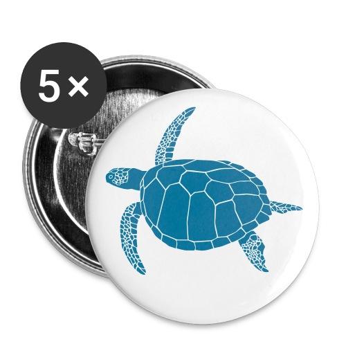 tier t-shirt meeres schildkröte sea turtle schildi meeresschildkröte tauchen taucher scuba diving - Buttons groß 56 mm