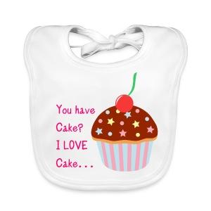 You Have Cake Bib - Baby Organic Bib