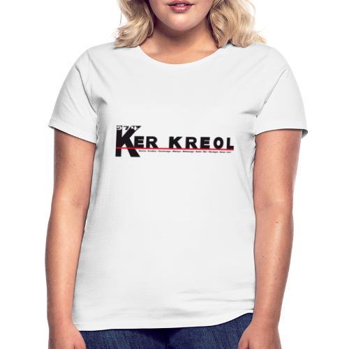 Tee shirt classique Femme 974 Ker Kreol  - J'aime mon île 2013 - T-shirt Femme