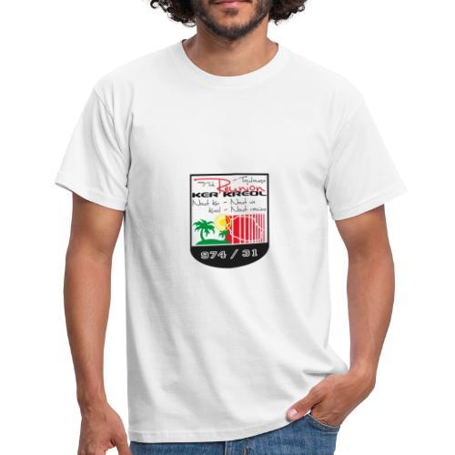 Tee shirt classique Homme Réunionnais de Toulouse - T-shirt Homme