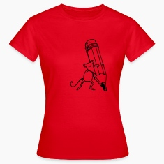 Rouge Souris Tee shirts