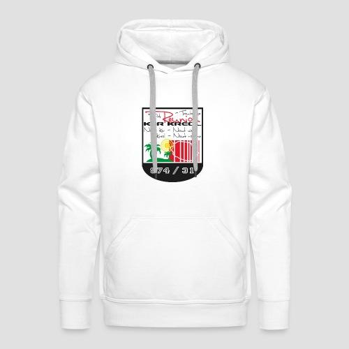 Sweat-shirt à capuche Homme Réunionnais de Toulouse - Sweat-shirt à capuche Premium pour hommes