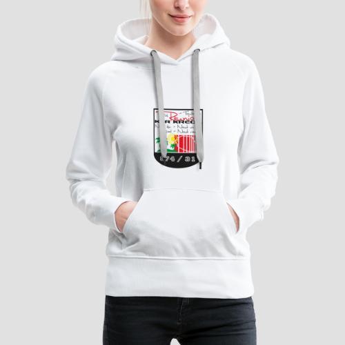 Tee shirt classique Homme Réunionnais de Toulouse - Sweat-shirt à capuche Premium pour femmes