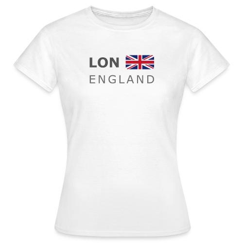Women's T-Shirt LON ENGLAND BF dark-lettered - Women's T-Shirt