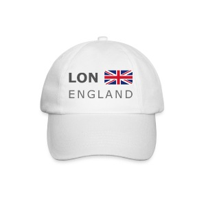 Base-Cap LON ENGLAND BF dark-lettered - Baseball Cap