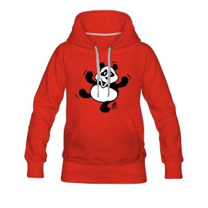 Panda -huppari - Naisten premium-huppari