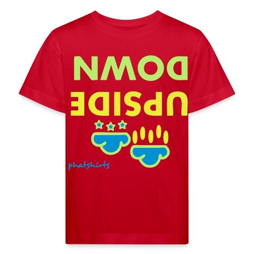 Upside down - Kinderen Bio-T-shirt