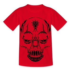 Kids' Halloween Skull T-Shirt - Kids' T-Shirt