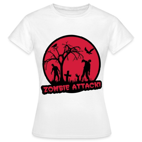 Men's Halloween Zombie Attack T-Shirt - Women's T-Shirt