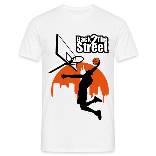 T-shirt Back To The Street - T-shirt Homme
