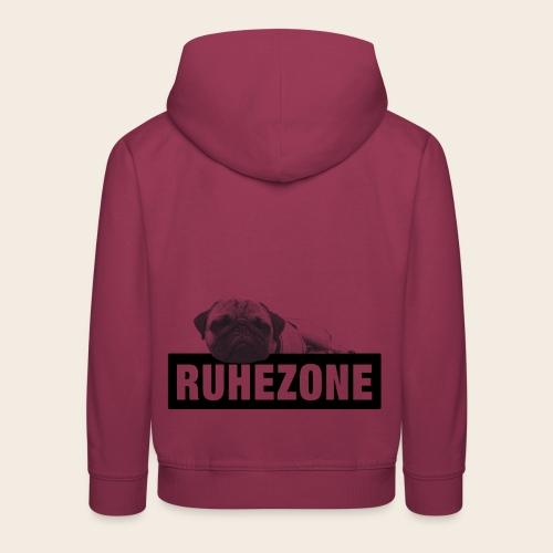 Kinder-Pullover Mops  Ruhezone - Kinder Premium Hoodie