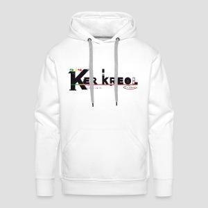 Sweat-shirt à capuche Homme 974 Ker Kreol  - J'aime mon île 2013 - Sweat-shirt à capuche Premium pour hommes