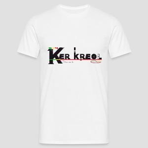 Tee shirt classique Homme 974 Ker Kreol  - J'aime mon île 2013 - T-shirt Homme