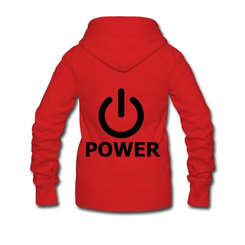 Power pull femme - Veste à capuche Premium Femme