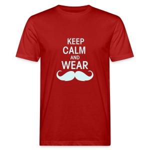 Keep calm - Männer Bio-T-Shirt