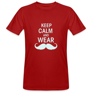 Keep calm - Männer Bio-T-Shirt