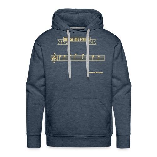 Ode an der Freude Pullover - Männer Premium Hoodie