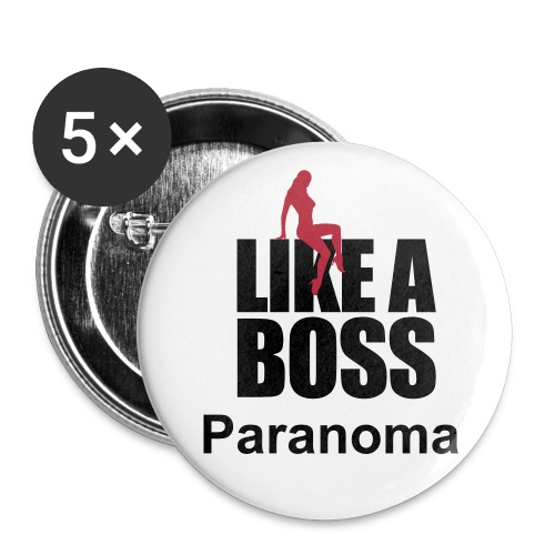 LIKE A BOSS Button - Buttons mittel 32 mm