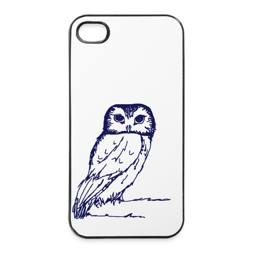iPhone 4/4s Hard Case - vogel,hibou,fly,fliegen,chouette,Uhu,Oiseau,OWL,Eule,Bird