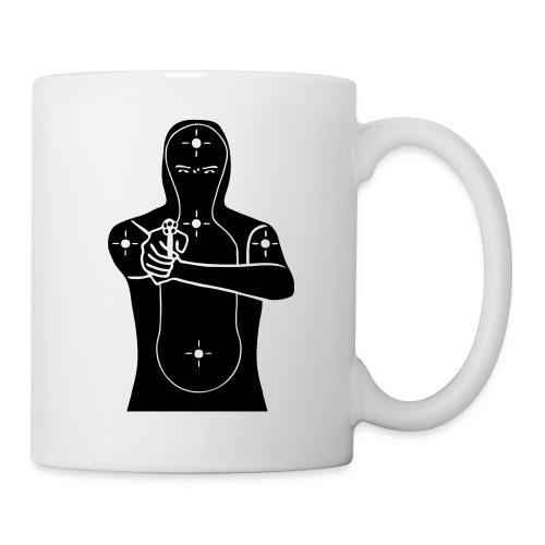 cible - Mug blanc
