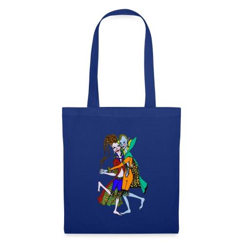 tas met elfen - Tas van stof
