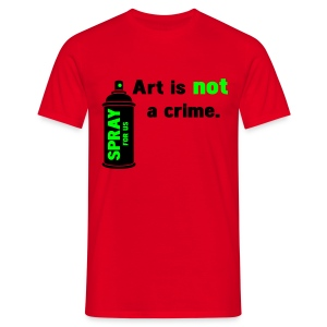 is not a crime - T-shirt Homme