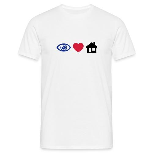 I Love House - Men's T-Shirt