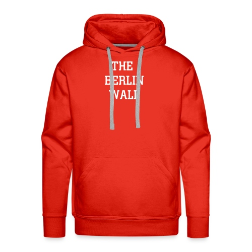 The Berlin Wall - Men's Premium Hoodie