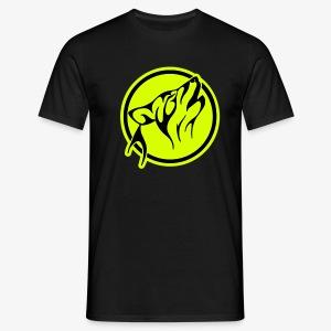 Sur la piste du loup... - T-shirt Homme