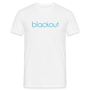 Blackout  - T-skjorte for menn
