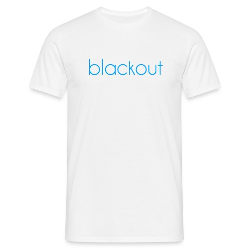 Blackout  - T-skjorte for menn