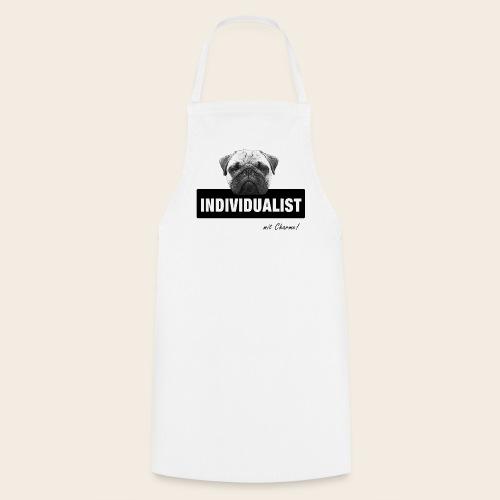 Mops Küchenschürze - Individualist mit Charme - Kochschürze