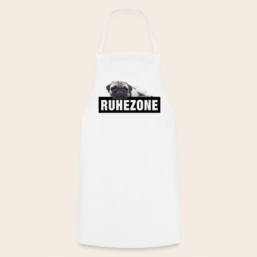 Mops Küchenschürze - Ruhezone - Kochschürze