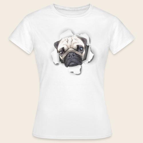 Mops Durchblick Frauen Shirt - Frauen T-Shirt